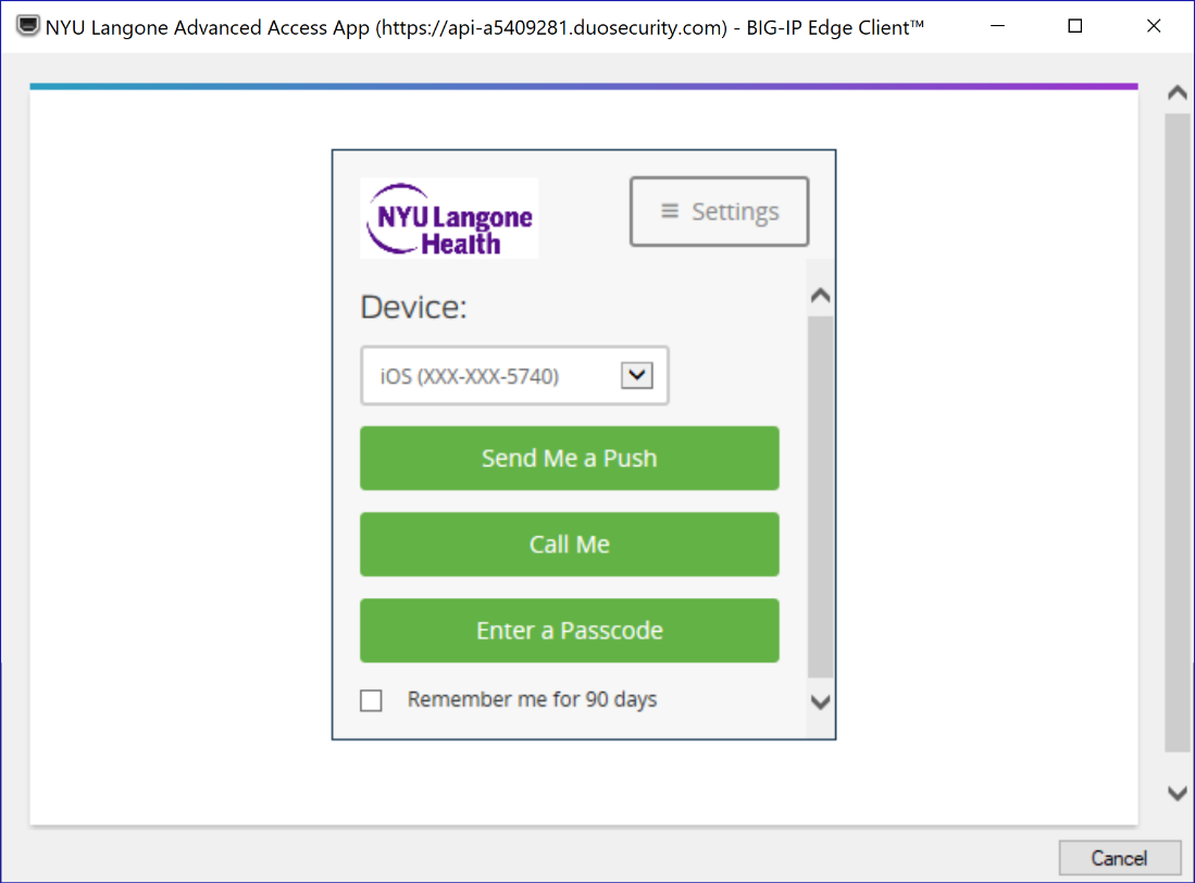 InsideHealth | NYU Langone Advanced Access App